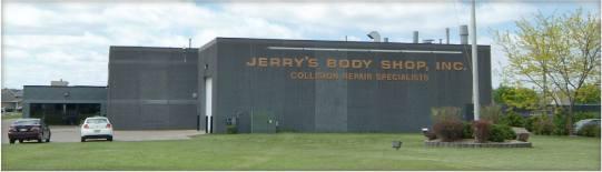 Jerrys Body Shop Building